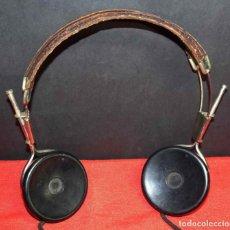 Radios de galena: CASCOS O AURICULARES PARA RADIO DE GALENA, C1920. Lote 293893108