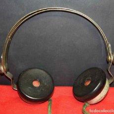 Radios de galena: CASCOS O AURICULARES TEL PARA RADIO DE GALENA, C1920. Lote 293895623