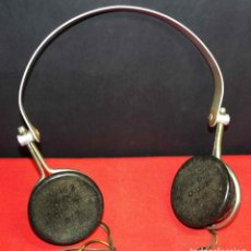 Radios de galena: CASCOS O AURICULARES S G BRAUN LTD PARA RADIO DE GALENA, C1920. Lote 293896193