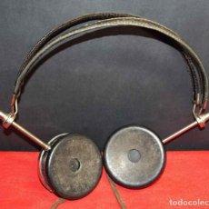Radios de galena: CASCOS O AURICULARES SABA PARA RADIO DE GALENA, C1920. Lote 293896328