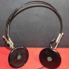 Radios de galena: CASCOS O AURICULARES PARA RADIO DE GALENA, C1920. Lote 293896608