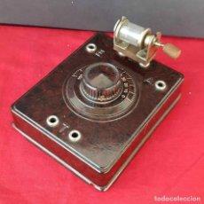 Radios de galena: RADIO DE GALENA DE BAQUELITA, C1920. Lote 293930333