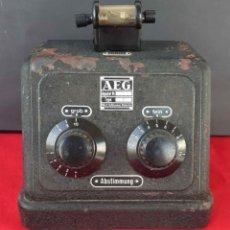 Radios de galena: RADIO DE GALENA AEG, C1920. Lote 293931163