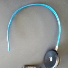 Radios de galena: AURICULARES DE BAQUELITA, CONSERVA SU CABLE ORIGINAL. Lote 294173928