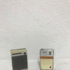 Radios de galena: PAR DE PEQUEÑAS RADIOS PHILIPS Y LAVIS. Lote 295586288