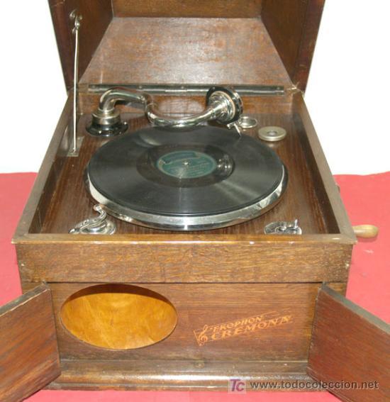 GRAMOLA DE SOBREMESA EKOPHON CREMONA (Radios, Gramófonos, Grabadoras y Otros - Gramófonos y Gramolas)