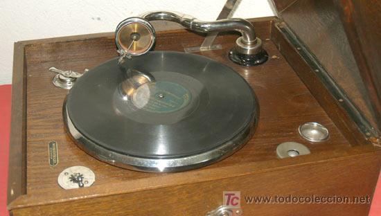 Gramófonos y gramolas: GRAMOLA DE SOBREMESA EKOPHON CREMONA - Foto 8 - 12508993