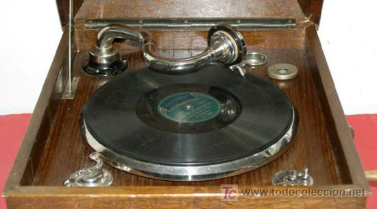 Gramófonos y gramolas: GRAMOLA DE SOBREMESA EKOPHON CREMONA - Foto 11 - 12508993