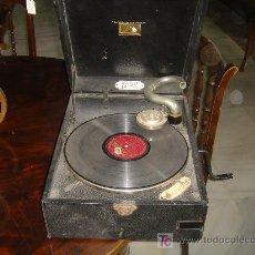 Gramófonos y gramolas: GRAMOLA LA VOZ DE SU AMO REF 2291. Lote 9884838