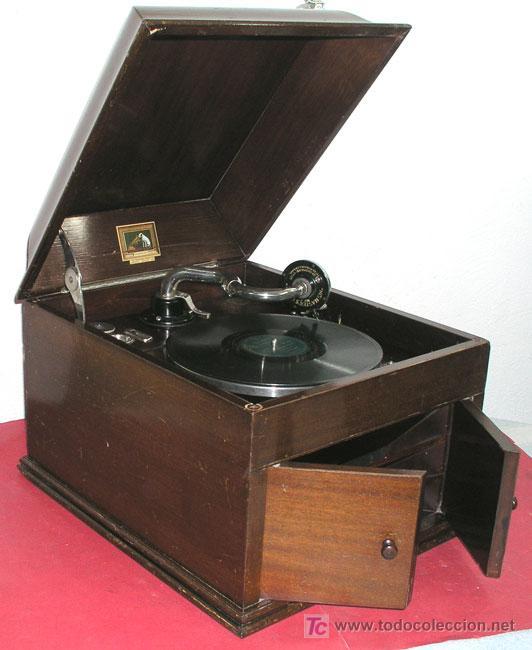 GRAMOLA SOBREMESA LA VOZ DE SU AMO (Radios, Gramófonos, Grabadoras y Otros - Gramófonos y Gramolas)
