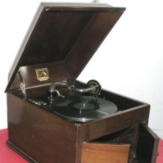 Gramófonos y gramolas: GRAMOLA SOBREMESA LA VOZ DE SU AMO . Lote 10425451