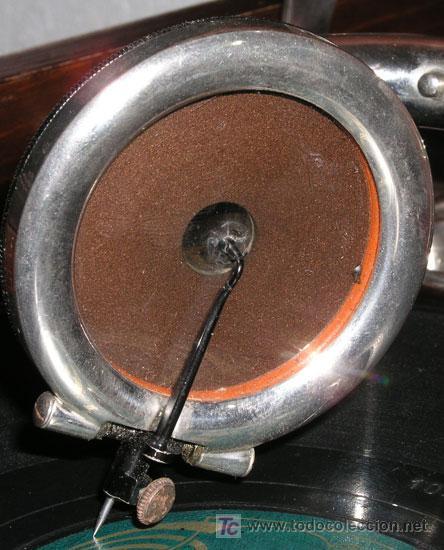 Gramófonos y gramolas: GRAMOLA SOBREMESA LA VOZ DE SU AMO - Foto 11 - 10425451