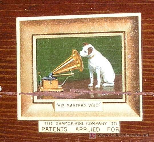 Gramófonos y gramolas: GRAMOLA SOBREMESA LA VOZ DE SU AMO - Foto 15 - 10425451