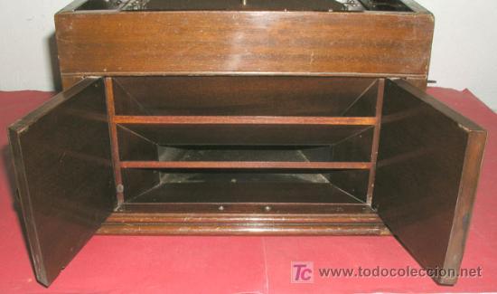 Gramófonos y gramolas: GRAMOLA SOBREMESA LA VOZ DE SU AMO - Foto 19 - 10425451