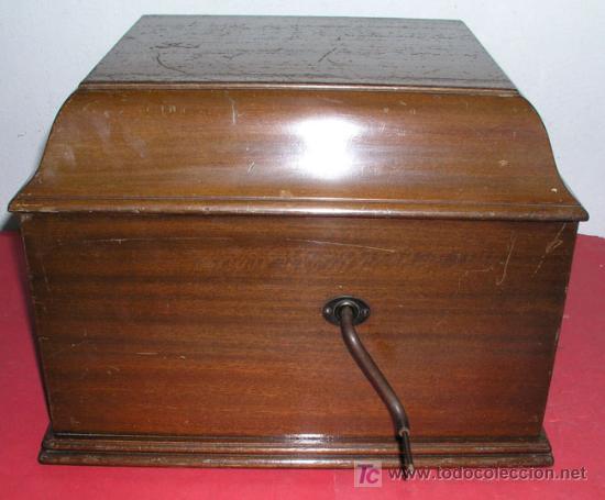 Gramófonos y gramolas: GRAMOLA SOBREMESA LA VOZ DE SU AMO - Foto 21 - 10425451