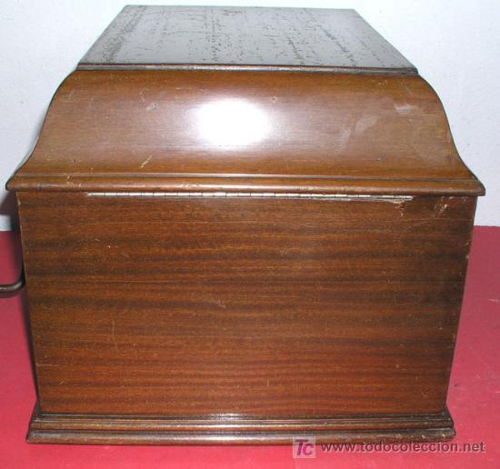 Gramófonos y gramolas: GRAMOLA SOBREMESA LA VOZ DE SU AMO - Foto 23 - 10425451
