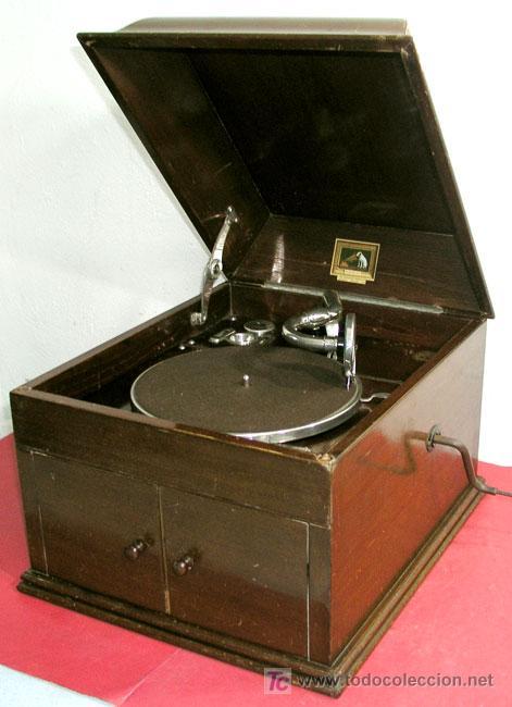 Gramófonos y gramolas: GRAMOLA SOBREMESA LA VOZ DE SU AMO - Foto 26 - 10425451