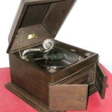 Gramófonos y gramolas: GRAMOLA DE SOBREMESA LUDOFON. Lote 12479724