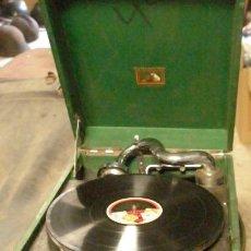 Gramófono completo, La Voz de su Amo