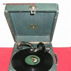 Gramófonos y gramolas: GRAMOLA DE MALETA SWING PHONE. Lote 12479718