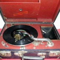 Gramófonos y gramolas: GRAMOLA DE MALETA KO-I-NOR. Lote 12479722