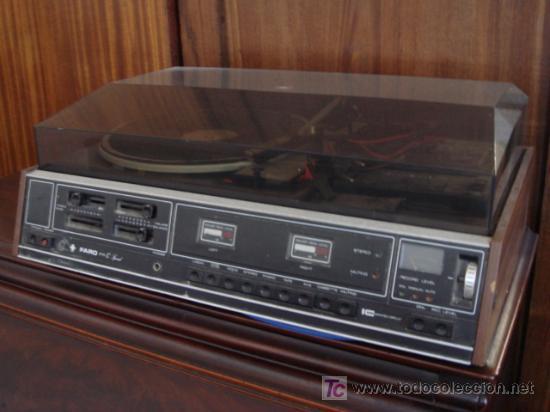 TOCADISCOS-CASET (Radios, Gramófonos, Grabadoras y Otros - Gramófonos y Gramolas)