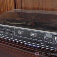 Gramófonos y gramolas: TOCADISCOS-CASET. Lote 25256643