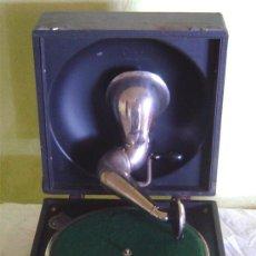 Gramófonos y gramolas: ANTIGUA MALETA GRAMOFONO GRAMOLA DE COLECCION , MARCA DECCA. Lote 27346217