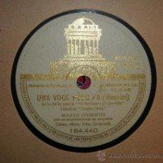 Gramófonos y gramolas: DISCODE GRAMOFONO: UNA VOCE POCO FA(ROSSINI),ARIA DE LA ÓPERA EL BARBERO DE SEVILLA DEL FIM CASTA DI. Lote 27111857