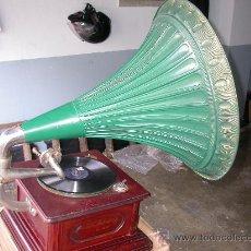Gramófonos y gramolas: GRAMOFONO DE GRAN SALON ORIGINAL SCHALDOSE. Lote 26349301