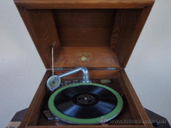 Gramófonos y gramolas: GRAFONOLA COLUMBIA DE 1914 FABRICADA EN U.S.A PIEZA DE COLECCION - Foto 3 - 21004513