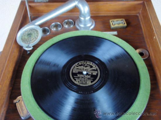 Gramófonos y gramolas: GRAFONOLA COLUMBIA DE 1914 FABRICADA EN U.S.A PIEZA DE COLECCION - Foto 5 - 21004513