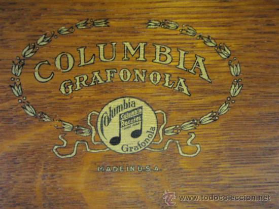 Gramófonos y gramolas: GRAFONOLA COLUMBIA DE 1914 FABRICADA EN U.S.A PIEZA DE COLECCION - Foto 7 - 21004513