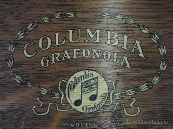 Gramófonos y gramolas: GRAFONOLA COLUMBIA DE 1914 FABRICADA EN U.S.A PIEZA DE COLECCION - Foto 8 - 21004513