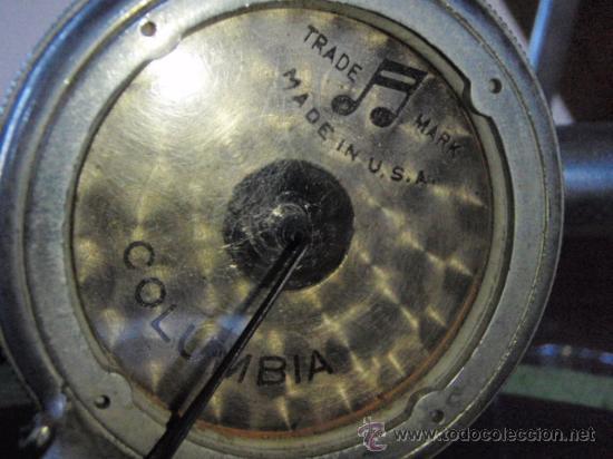 Gramófonos y gramolas: GRAFONOLA COLUMBIA DE 1914 FABRICADA EN U.S.A PIEZA DE COLECCION - Foto 9 - 21004513
