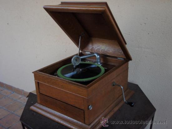 Gramófonos y gramolas: GRAFONOLA COLUMBIA DE 1914 FABRICADA EN U.S.A PIEZA DE COLECCION - Foto 14 - 21004513
