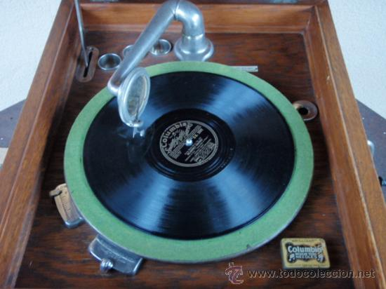 Gramófonos y gramolas: GRAFONOLA COLUMBIA DE 1914 FABRICADA EN U.S.A PIEZA DE COLECCION - Foto 16 - 21004513