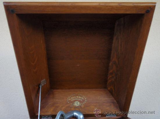 Gramófonos y gramolas: GRAFONOLA COLUMBIA DE 1914 FABRICADA EN U.S.A PIEZA DE COLECCION - Foto 17 - 21004513