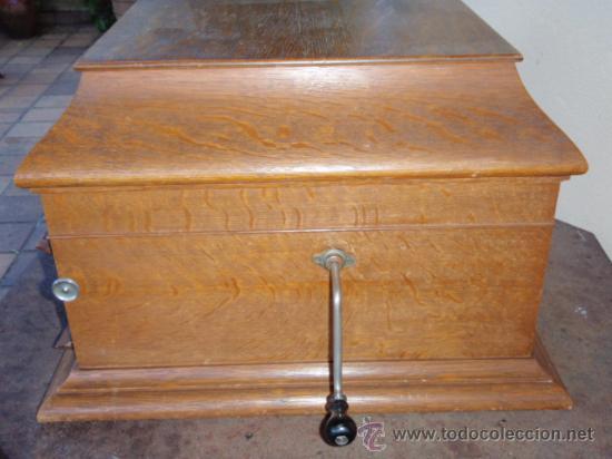 Gramófonos y gramolas: GRAFONOLA COLUMBIA DE 1914 FABRICADA EN U.S.A PIEZA DE COLECCION - Foto 19 - 21004513