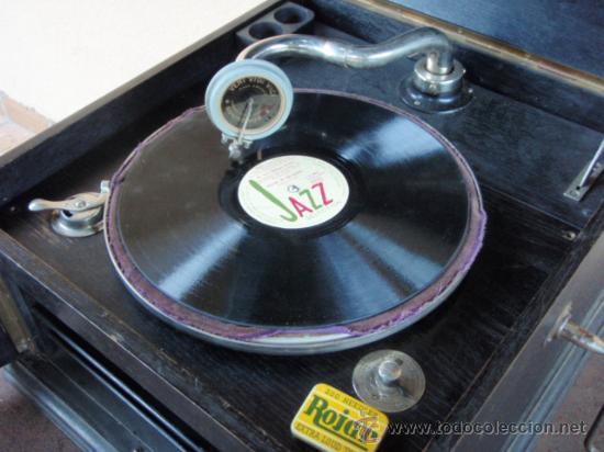 GRAMOLA DE SOBREMESA 'MUSIKAFFAR' DE STOCKHOLM DE LOS AÑOS 20 (Radios, Gramófonos, Grabadoras y Otros - Gramófonos y Gramolas)