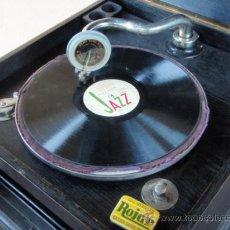 Gramófonos y gramolas: GRAMOLA DE SOBREMESA 'MUSIKAFFAR' DE STOCKHOLM DE LOS AÑOS 20 . Lote 21005113