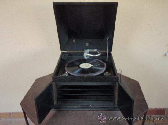 Gramófonos y gramolas: GRAMOLA DE SOBREMESA MUSIKAFFAR DE STOCKHOLM DE LOS AÑOS 20 - Foto 6 - 21005113