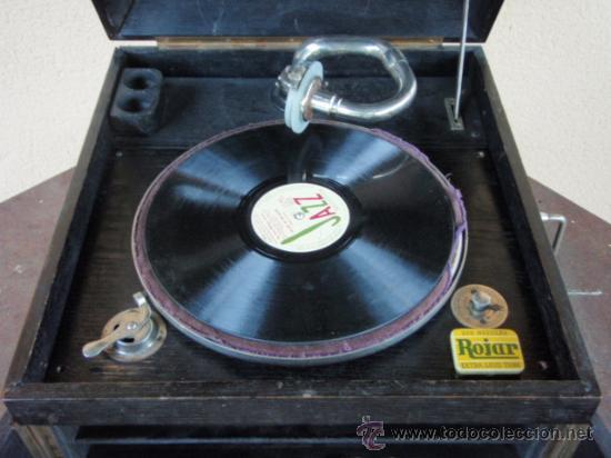 Gramófonos y gramolas: GRAMOLA DE SOBREMESA MUSIKAFFAR DE STOCKHOLM DE LOS AÑOS 20 - Foto 10 - 21005113