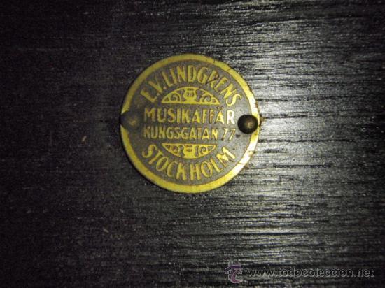 Gramófonos y gramolas: GRAMOLA DE SOBREMESA MUSIKAFFAR DE STOCKHOLM DE LOS AÑOS 20 - Foto 12 - 21005113