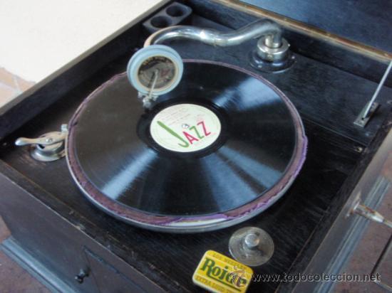 Gramófonos y gramolas: GRAMOLA DE SOBREMESA MUSIKAFFAR DE STOCKHOLM DE LOS AÑOS 20 - Foto 13 - 21005113