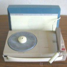 Gramófonos y gramolas: TOCADISCO MARCA ALL TRANSISTOR ASKAR. Lote 21573720
