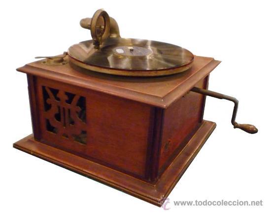 GRAMÓFONO AÑOS 1920 -MAQUINA PARLANTE MERCEDES (Radios, Gramófonos, Grabadoras y Otros - Gramófonos y Gramolas)