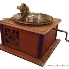 Gramófonos y gramolas: GRAMÓFONO AÑOS 1920 -MAQUINA PARLANTE MERCEDES. Lote 26167225