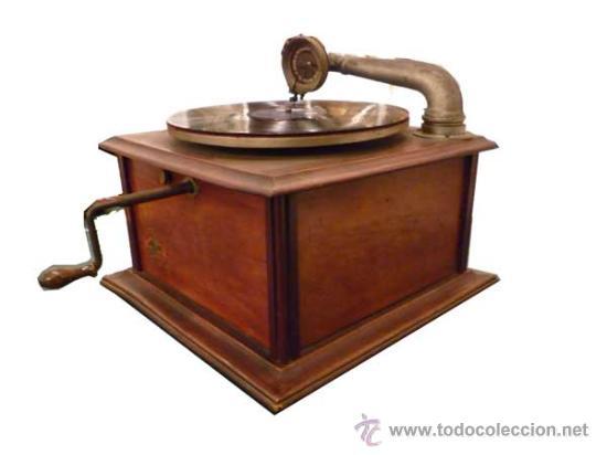 Gramófonos y gramolas: GRAMÓFONO AÑOS 1920 -MAQUINA PARLANTE MERCEDES - Foto 3 - 26167225