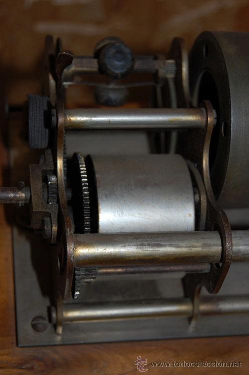 Gramófonos y gramolas: GRAMÓFONO FONÓGRAFO EMBLEMA EL GALLO - Foto 5 - 35025160